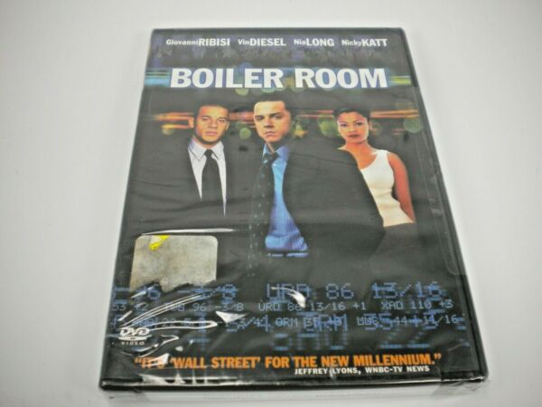 BOILER ROOM DVD FACTORY SEALED $4.00