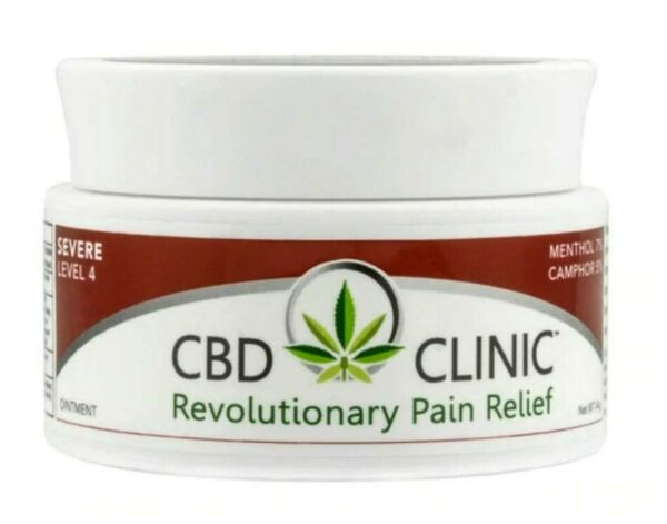 C B D Clinic Professional Series - Level 4 Deep Muscle and Joint Pain Relief 44g