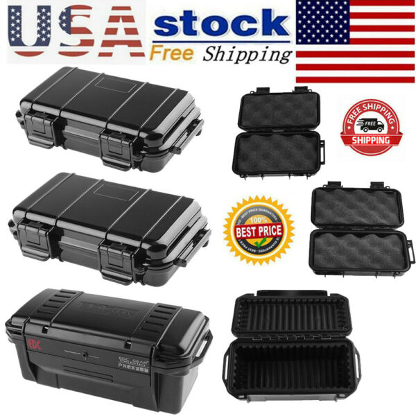 Plastic Outdoor Shockproof Sealed Waterproof Storage Case Tool Dry Box Container