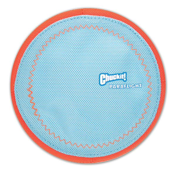 New Chuckit!-Paraflight Flyer-Dog Puppy Flydisc Floats Toys for Long Time Play $14.28