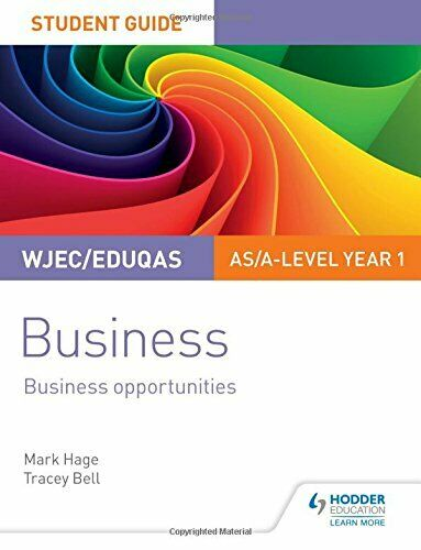 WJEC Eduqas AS A level Year 1 Business Student Hage Bell.. $22.76