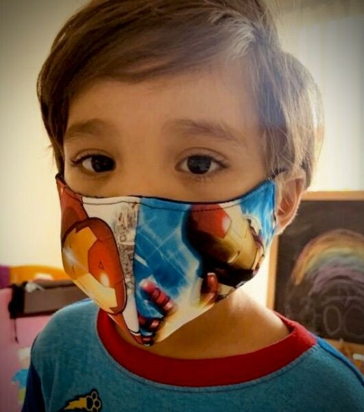 Kids & Adults Cloth Protection Fashion Face Cover Reversible Customizable Mask