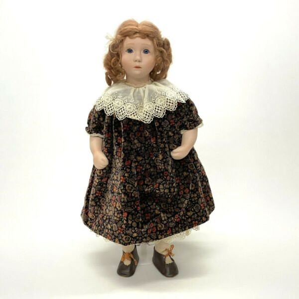 Cheryl Pabst 1991 Limited Edition 21quot; Artist Doll Amanda #2 50 Ginger Blue Eyes