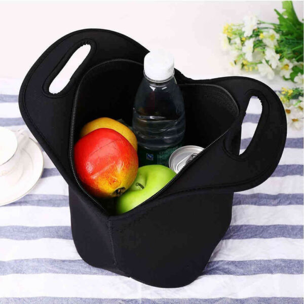 Outdoor Lunch Bag Thick Insulated Durable Waterproof Lunch Tote With Zipper Bag