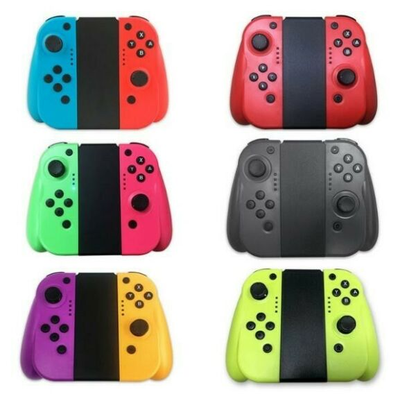 For Nintendo Switch Joy-Con (LR) Bluetooth Wireless Controller Set With Grip