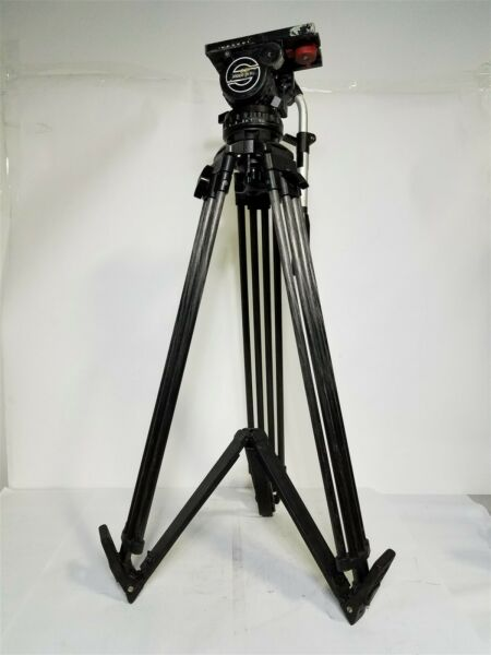 Sachtler Video 20 II Fluid Head with Carbon Fiber CF Tripod