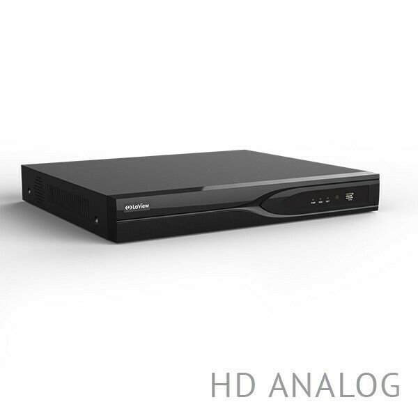 Laview 8 Channel 4K H.265 HD-TVI DVR + 1TB Hard Drive Digital video recorder US