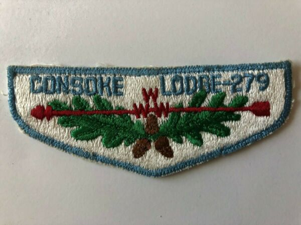 Consoke Lodge 279 OA S1b Flap patch Order of the Arrow Boy Scouts used
