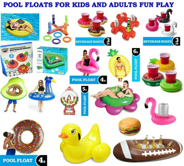 POOL FLOATS FOR KIDS AND ADULTS FUN PERFECT FOR PLAY $15.99
