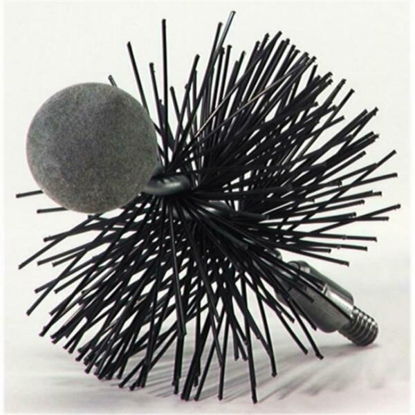 RUTAND 4in. Round Chimney Sweep Pellet Stove Brush 1 4 20 thread $33.81