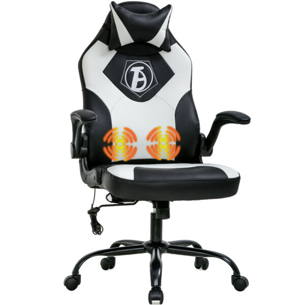 Gaming Chair Computer Chair Desk Chair PU Leather Adjustable Office Chair