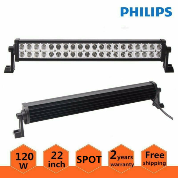Philips 22inch LED Light Bar Offroad 120W Ford 4WD SUV Combo Driving Lamp 20 24quot;