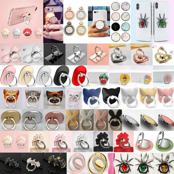 Universal Hand Cell Phone Holder Grip Mix Mount Expanding Stand Lot Multi type $3.45