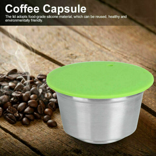 Reusable Coffee Capsule For Nescafe Dolce Gusto Machine Refillable Capsules Pod
