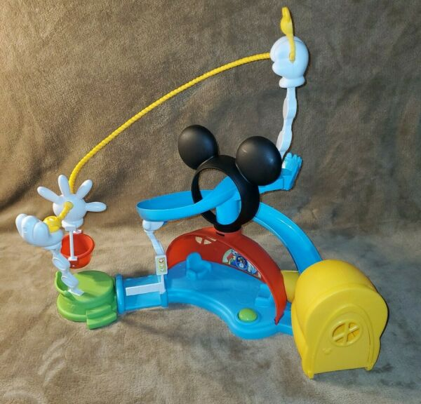 Fisher-Price Disney Junior Mickey Mouse Clubhouse Zip Slide and Zoom Clubhouse