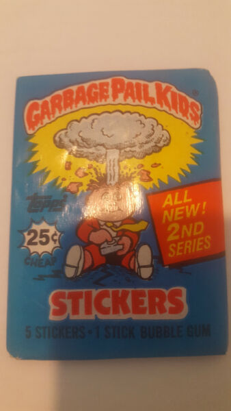 1985 TOPPS GARBAGE PAIL KIDS SERIES 2 Wax Pack Factory Sealed Rare