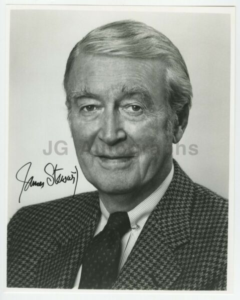 James Stewart - Iconic Hollywood Actor - Signed 8x10 Photograph