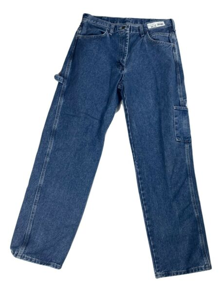 Bulwark Heavyweight Excel FR Flame Resistant Denim Dungaree Jeans Carpenter $29.99