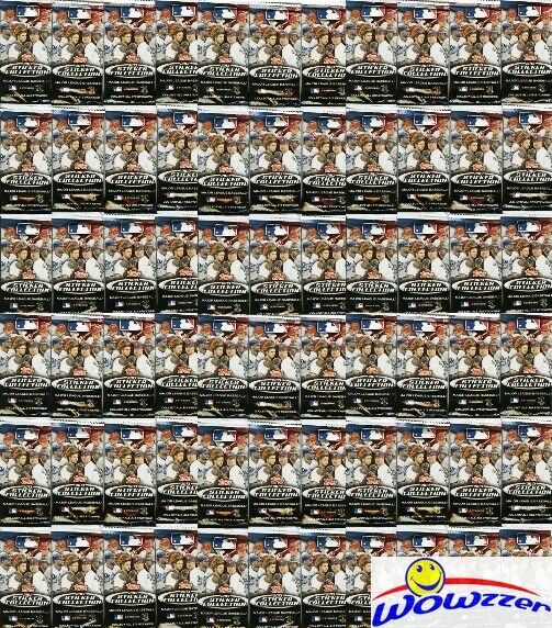 (50) 2013 Topps Baseball Factory Sealed Stickers Packs-400 MINT Stickers ! $19.95