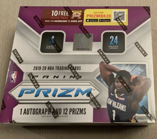 2019 20 Panini Prizm NBA Retail Pack from Sealed Box 2 Free Basketball Cards 🔥