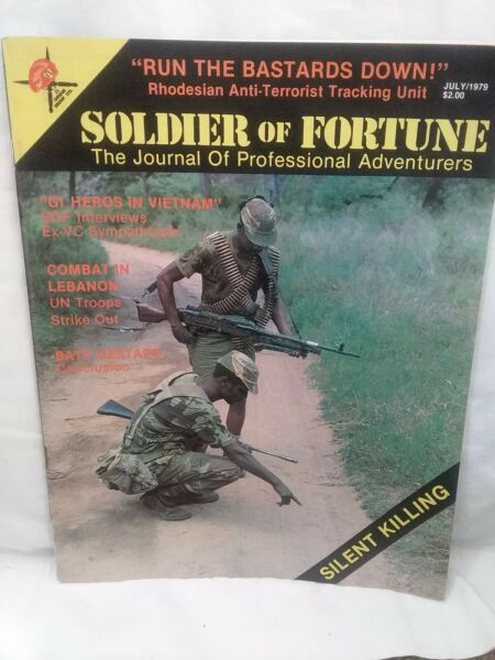Soldier Of Fortune Magazine July 1979