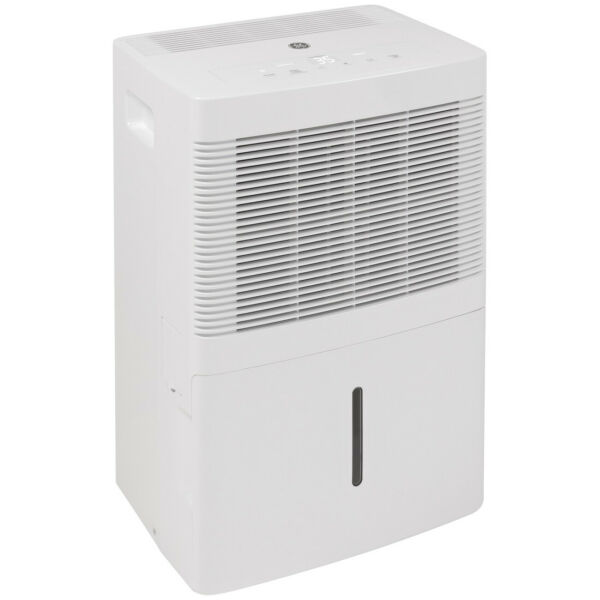 GE ADEL20LY Portable Multi Speed Electric Home Dehumidifier 20 Pints White $114.99