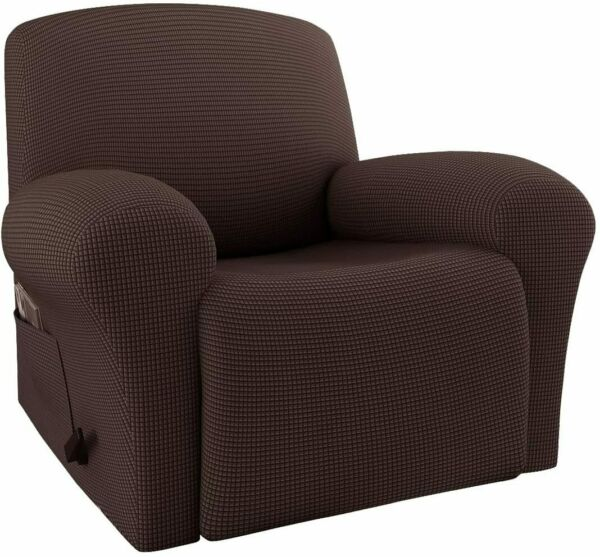Anti Slip Stretch Recliner Slipcover Fit Furniture Chair Lazy Boy Cover 6 Colors $31.33