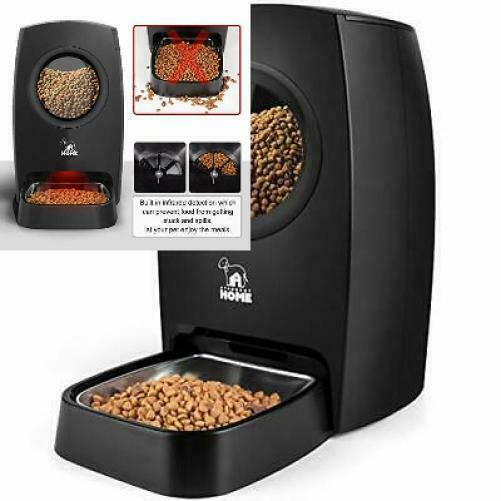 HICTOP Automatic Pet Feeder  Auto Cat Dog Timed Programmable Food Dispenser...  $127.30