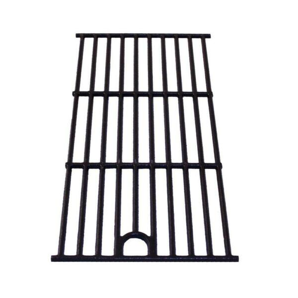 13.7 In. X 17 In. Cooking Grill Grate Replacement Porcelain Cast Iron Grid BBQ