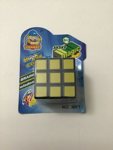 1 PC CONMAY RUBIK'S CUBE FOR AGES 6 3x3x3 LAYER INTELLIGENCE CUBE