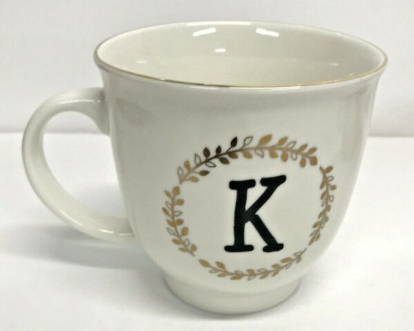 Sheffield Home quot;Kquot; Coffee Tea Cup