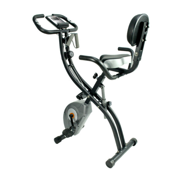 ATIVAFIT Foldable Exercise Bike Magnetic Stationary Upright Bike Indoor Cycling $164.99