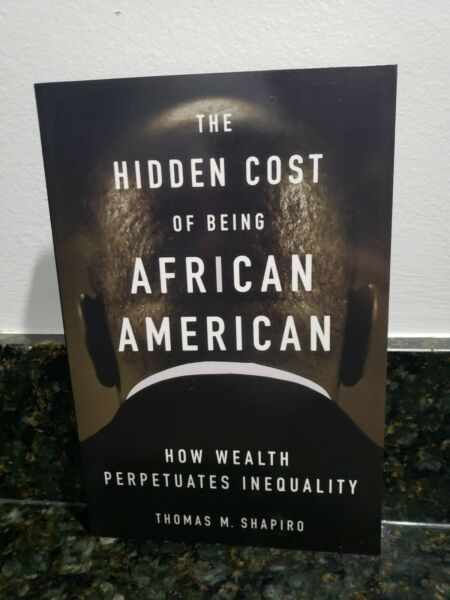 NEW 🔥The Hidden Cost of Being African American BY Thomas Shapiro FAST FREE SHIP $10.95