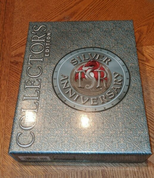TSR Dungeons & Dragons Silver Anniversary Collector's Edition Box Set and more