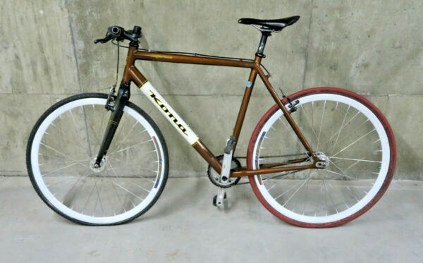 Kona Major One Race Light Scandium Butted Carbon Cross 23quot; Bicycle Copper Brown