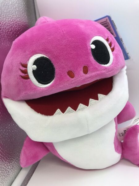 WowWee Pinkfong Baby Shark Official Song Puppet with Tempo Control - Mommy Shark