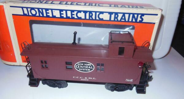 LIONEL 17611 NEW YORK CENTRAL WOOD SIDED CABOOSE BOXED B2 $49.00