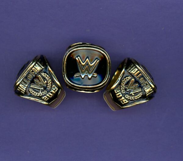 2019 WWE Hall of fame Championship Ring REPLICA Size 9