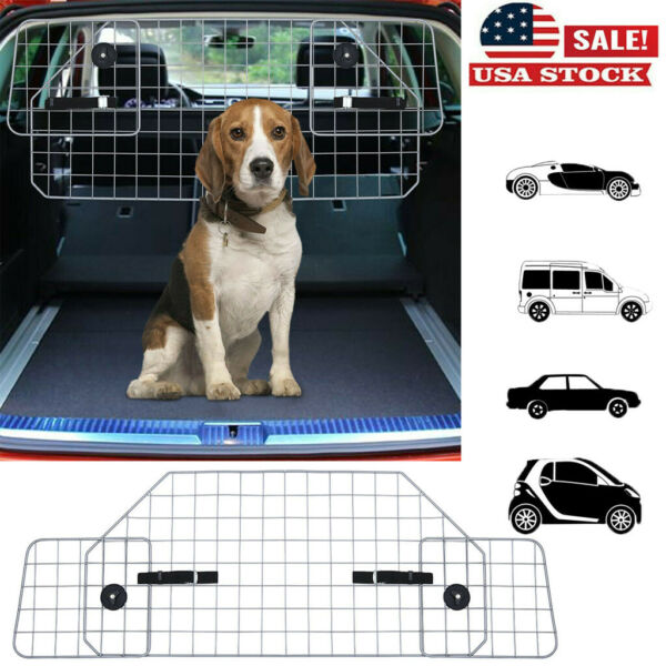 Car Dog Pet Barrier Guard Back Seat Safety Protector Metal Barrier For SUV TW $64.98