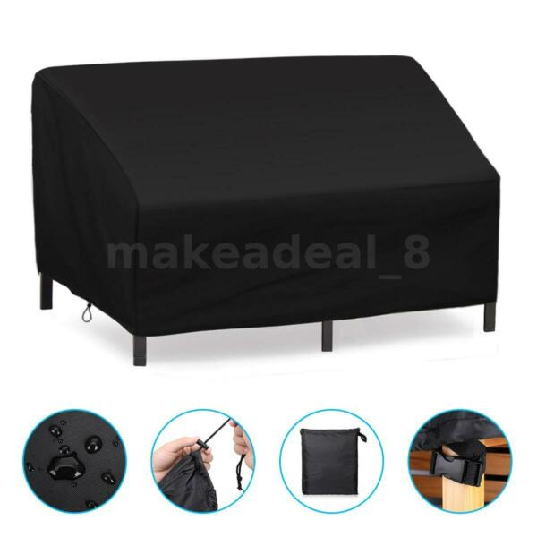 38#x27;#x27; Patio Furniture Cover Outdoor Table Chairs Bench Sofa Cover Waterproof US $13.99