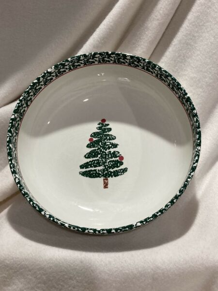 Furio Serving Bowl Christmas Tree Bowl Made in Italy Holidays Dining