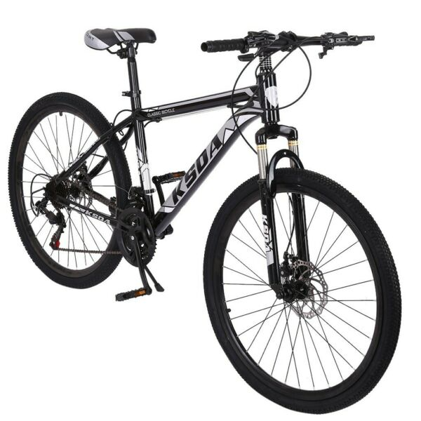 Mountain Bike For Men#x27;s Bicycle 26quot; Turquoise Adjustable Seat 21 Speeds Ride HOT $175.88