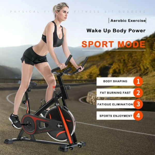 Professional Exercise Bicycle Indoor Bike Cycling Cardio Fitness Home Workout $183.99