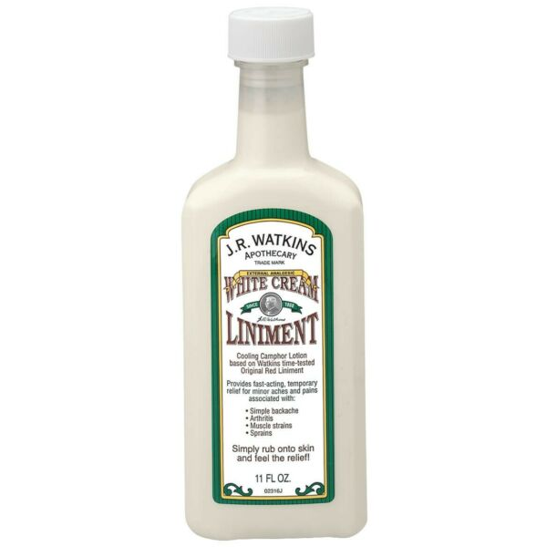 White Cream Liniment Contains 11 fluid ounces FreeShip