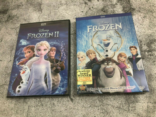 Frozen 1 amp; 2 combo 2 DVD SET*** NEW Family Adventure Fast shipping US seller