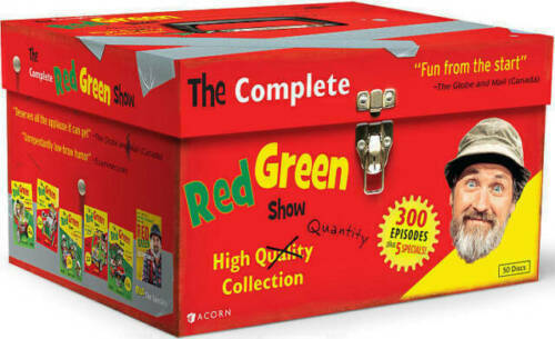 The Red Green Show Complete Series DVD 2012 50 Disc Box Set Free shipping