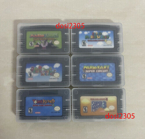Super Mario Senior 1 2 3 4 SuperstarUS Reproduction GBA Gameboy Advance