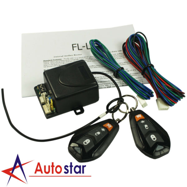 New Universal Car Remote Control Central Kit Door Lock Keyless Entry System $29.97