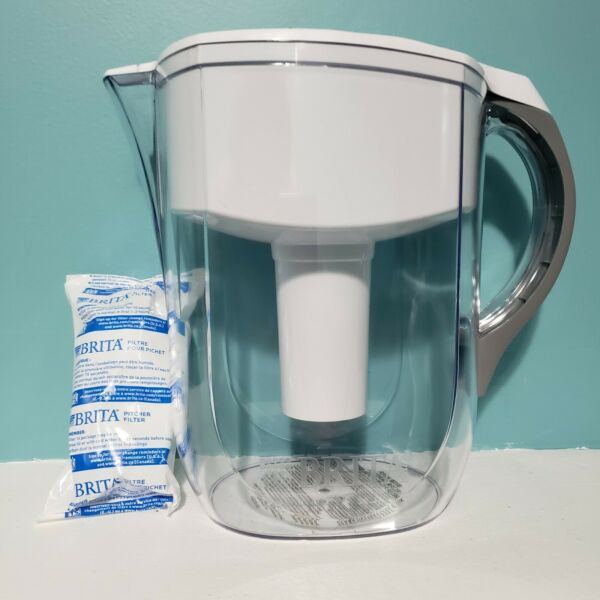 Brita 10 Cup Grand Pitcher in Clear with Filter Open Box Unused