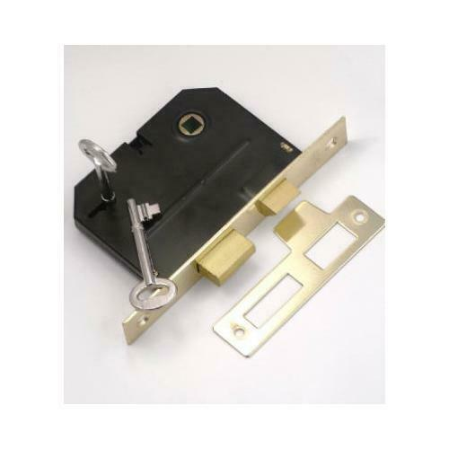 Brass Bit Key Mortise Lock